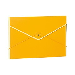 Envelope Folder with elastic band closure, sun