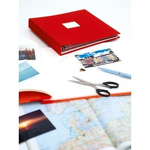 17-Ring Photo Album & Guest Book