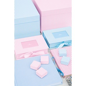 Little Gift Boxes Vichy 12 Set
