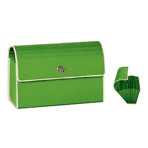 Small Accordeon File with metal twist turn lock