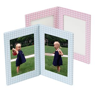 Doppio Vichy Photo Frame