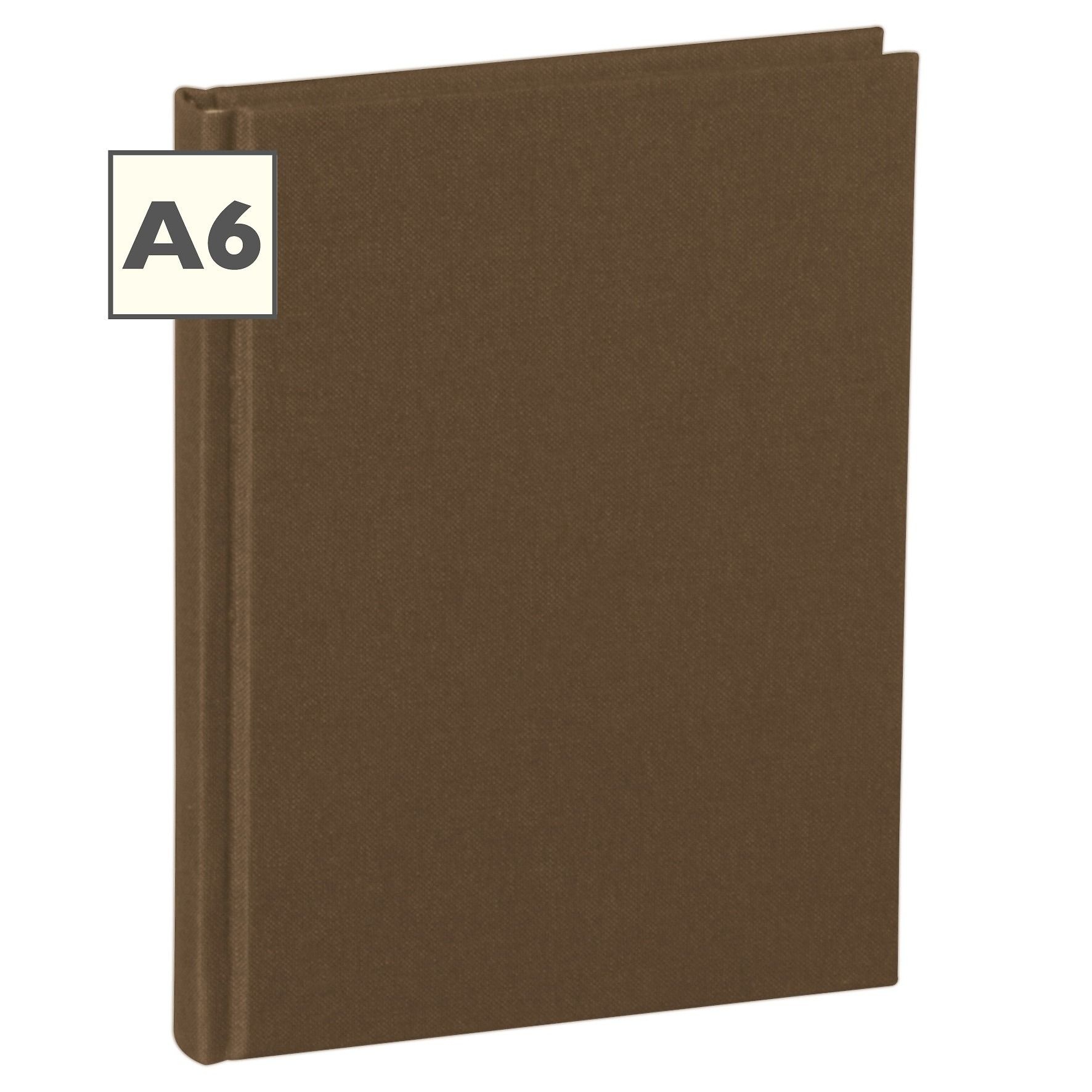 Notebook Classic (A6) Book Linen Cover, 160 Pages, Plain