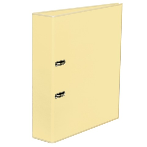 Wide Ring Binder (A4) lever mechanism, removable labels - 7 cm spine, chamois