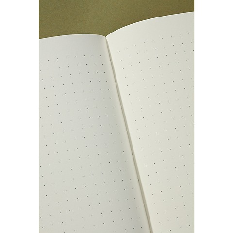 Notebook Classic (A5) dotted, book linen cover, 144 pages, irish