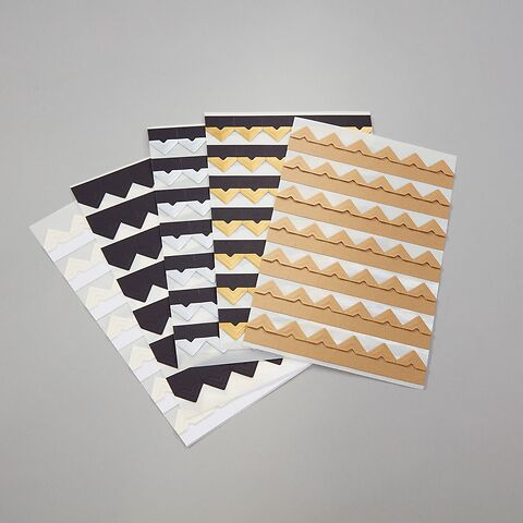 Photo Corners, 252 pieces, kraft
