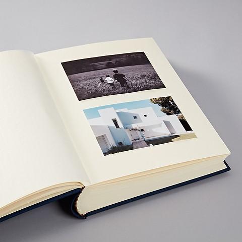 Album Large with linen binding